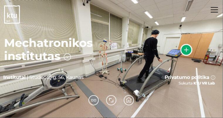 Kauno technologijos universiteto virtualus turas